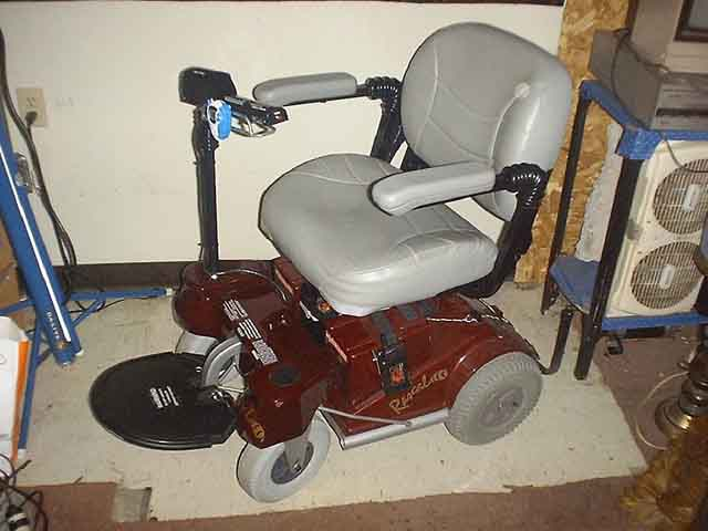 This is my EMC model 255 scooter/wheelchair conversion. & Hell On Wheels: When Good Rascal Riders Go BAD